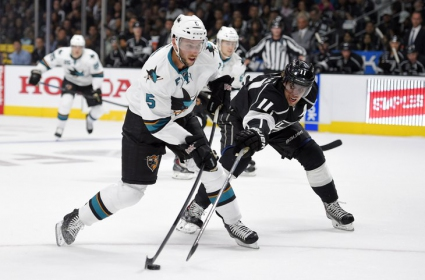 Шаркс взеха сладък реванш и разгромиха шампиона Кингс на старта на сезона в НХЛ