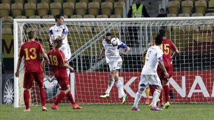 Гол в последната минута спаси Македония от провал срещу Люксембург (видео)