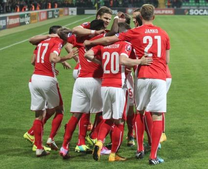 Австрия си тръгна с три точки от Молдова (видео)