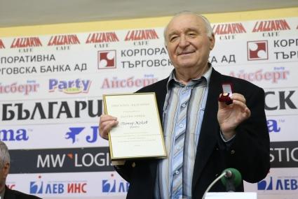 """""""Златна топка"""" за един от най-великите български голмайстори (видео+снимки)"""