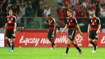 Загубата на Германия сложи край на впечатляващо постижение