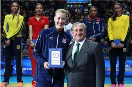 Кимбърли Хил MVP на Световното