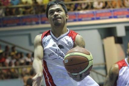 Мани Пакиао с професионален дебют в баскетбола