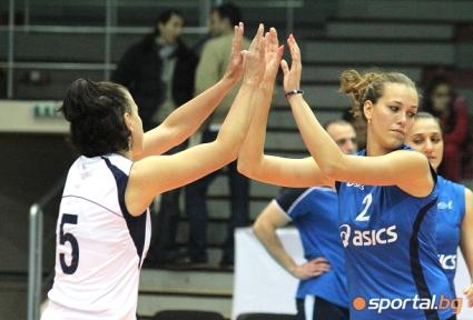 Волейболистките на Левски стартират с едно ново попълнение