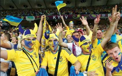 Украйна може да играе следващите си квалификации без зрители