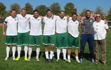 България пак е балкански шампион по футбол за журналисти!