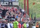 Фенове прекъснаха мач в Белгия