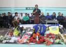 Трагедия: футболист почина след празнуване на гол (видео)