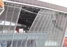 Експлозия нанесе щети по стадиона на Шахтьор
