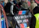 Ултраси на ЦСКА (М) протестират срещу УЕФА