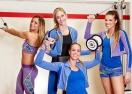 Волейболистки станаха модели във фитнеса (ГАЛЕРИЯ)