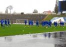 """""""Сините"""" с тренировка под проливния дъжд"""