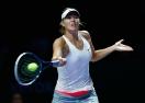 Шарапова отпадна от Шампионата на WTA след драматичен срив