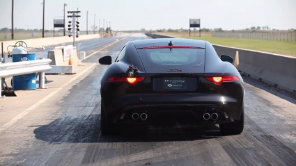 Чуйте Hennessey Jaguar F-TYPE R Coupe с 631 кс (Видео)