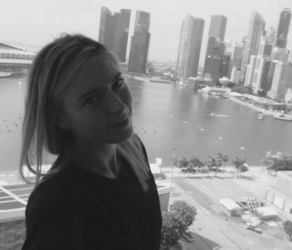 Шарапова със страхотна гледка в Сингапур