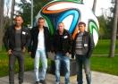Победителите от Kamenitza Фен Купа изкараха незабравимо в централата на adidas (видео)