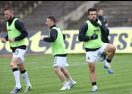 Славия тренира в 15:00 часа, част от заниманието открито