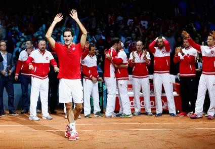 Федерер: Успехът не е мой, а на целия отбор и на Швейцария