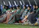 Премръзналите мексиканци се увиха под дебели одеяла (снимка)