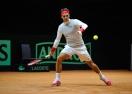 Федерер най-сетне тренира