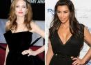 Анджелина Джоли не иска Ким Кардашян на премиерата си