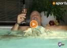 Стоичков се топна в джакузи след изпълнена мисия в Минск (видео)