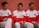 Федерер и Вавринка излизат на двойки за Швейцария