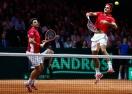 Федерер и Вавринка дадоха преднина на Швейцария (видео)