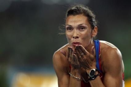 Руска атлетка роди момченце