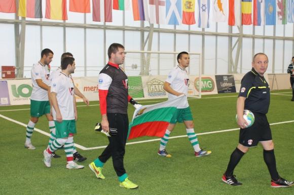 България победи Дания на европейското по футзал