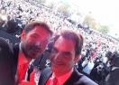 """10 000 в Лозана посрещат героите за """"Купа Дейвис"""" (видео)"""