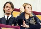 Обявиха Барбара Берлускони и Пипо Индзаги за гаджета, те отричат