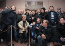 Левскари откриха паметна плоча на 100 метра от първия стадион на Левски (видео+галерия)