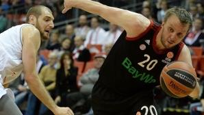 Душко Саванович – MVP на IX кръг в Евролигата (видео)