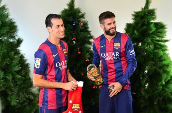 Коледна забава с Барса (видео)