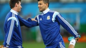 Меси: Ще се радвам да се срещна с Агуеро в Шампионската лига