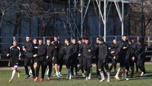 Холандец направи първа тренировка със Славия