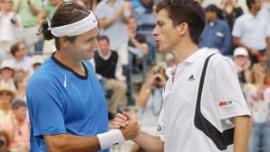 Хенман: Роджър е най-добрият тенисист, който някога съм срещал