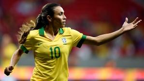 Бразилската звезда Марта продължи договора си с шампиона на Швеция