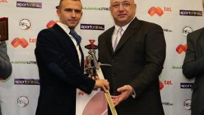 Ивайло Стоянов беше избран за футболен съдия №1 на 2014-а година