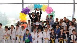 Резултати от коледния турнир за деца по Бразилско Джу Джицу в Благоевград