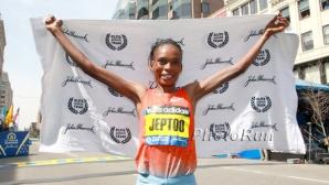 Победителката в маратоните на Бостън и Чикаго хваната с допинг