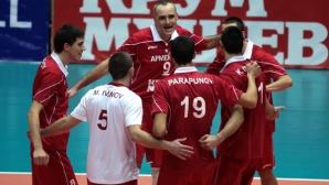 ЦСКА завърши годината с категорично 3:0 над КВК Габрово