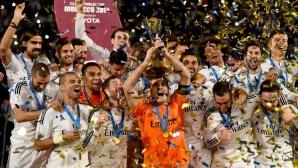 Летящият Реал Мадрид кацна исторически на световния връх (видео+галерия)