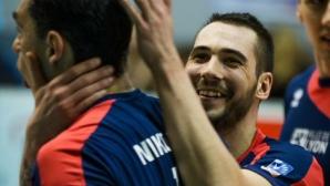 Владо Николов с 15 точки! Лион удари Монпелие с 3:0 като гост