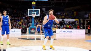 Калоян Иванов с добър мач в Испания