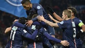 ПСЖ пребори Бордо, Сент Етиен се измъкна след трилър срещу Тур (видео)