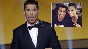 Романсът на CR7 срина телевизията на Реал