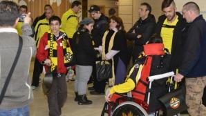 Деца-аутисти на среща с футболистите на Ботев (Пд)