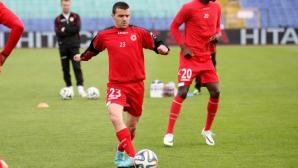 Бадема отново игра за ЦСКА - вкара три гола (снимки)